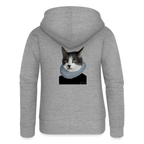 Noble Cat - Frauen Premium Kapuzenjacke