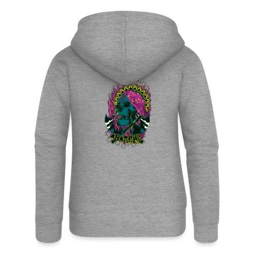 Purple Anarchy - Chaqueta con capucha premium mujer