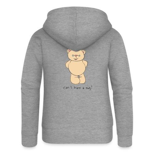 Bear hug - Women's Premium Hooded Jacket