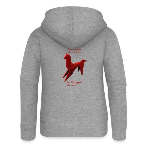 UnicornioBR2 - Chaqueta con capucha premium mujer