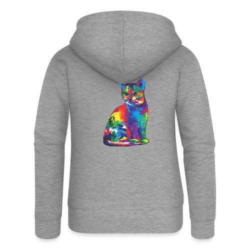 Katze - Frauen Premium Kapuzenjacke