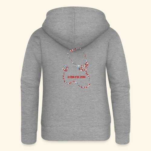 i will fix you stethoscope - Women's Premium Hooded Jacket