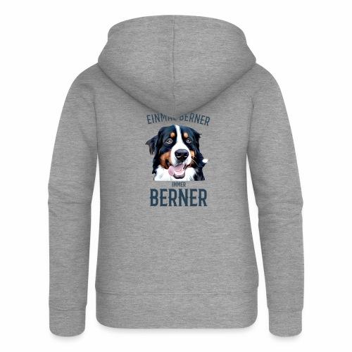 Berner Sennenhund Bern Geschenk Hundehalter - Frauen Premium Kapuzenjacke