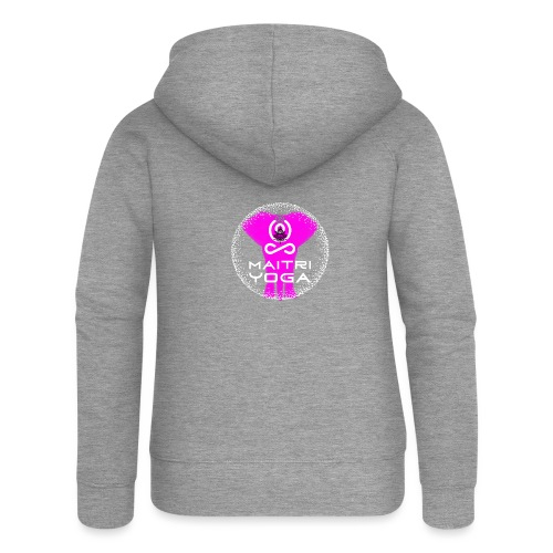 Pink Elephant Om - Veste à capuche Premium Femme