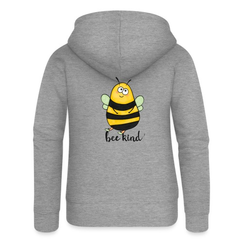Bee Kind - Women's Premium Hooded Jacket