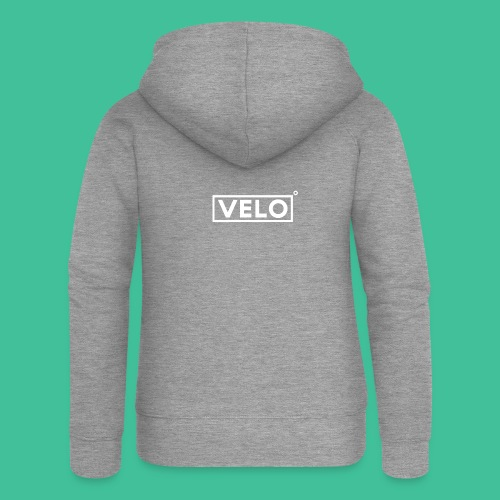 Velo Icon - Charcoal Clr - Women's Premium Hooded Jacket