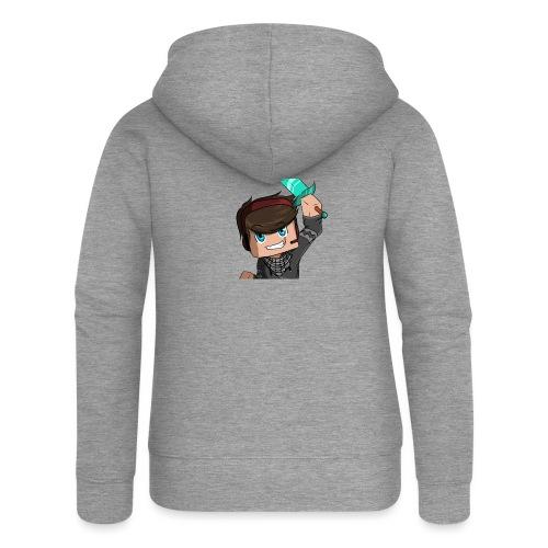 Avatar Minecraft Xtr3mZMiniboy - Veste à capuche Premium Femme