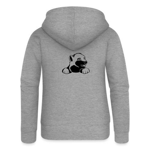 ijsbeer shirt - Vrouwenjack met capuchon Premium