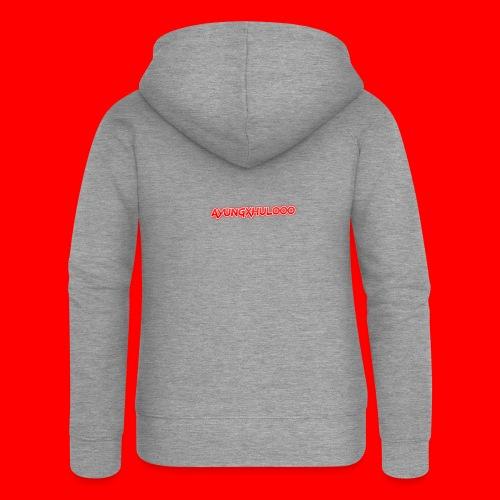 AYungXhulooo - Neon Redd - Women's Premium Hooded Jacket