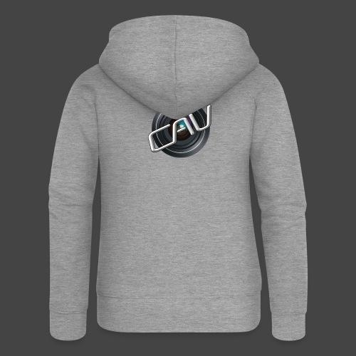 CAV-Logo - Frauen Premium Kapuzenjacke