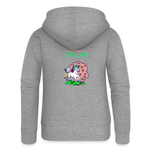 Einhorn unicorn - Frauen Premium Kapuzenjacke