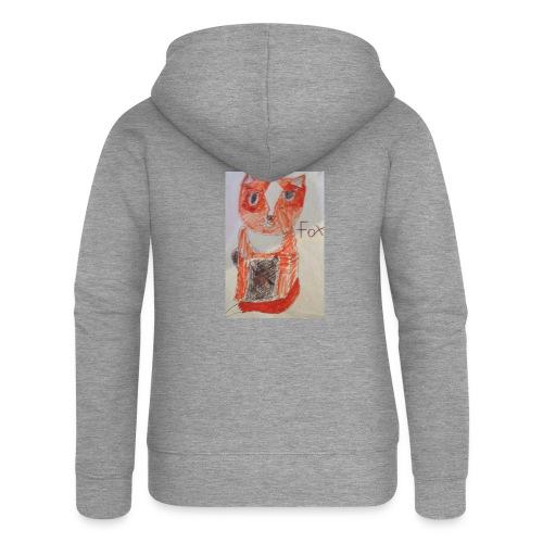 fox - Women's Premium Hooded Jacket