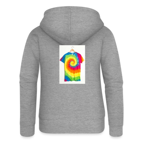 tie die small merch - Women's Premium Hooded Jacket