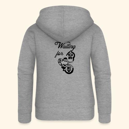 waitingG - Women's Premium Hooded Jacket