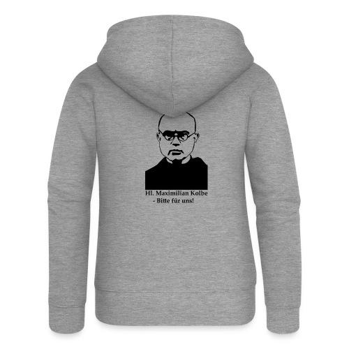 Hl. Maximilian Kolbe - Bitte für uns! - Frauen Premium Kapuzenjacke