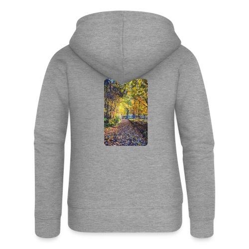 Autumn - Rozpinana bluza damska z kapturem Premium