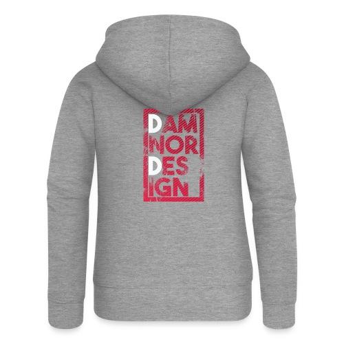 Damnor design (H) - Veste à capuche Premium Femme