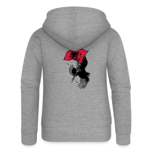 Albanischer Adler - Frauen Premium Kapuzenjacke