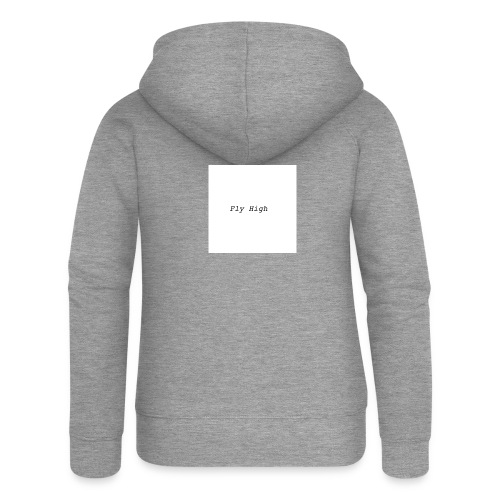 Fly High Design - Women's Premium Hooded Jacket