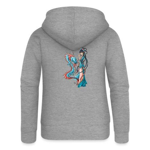 Blue Dragon - Veste à capuche Premium Femme