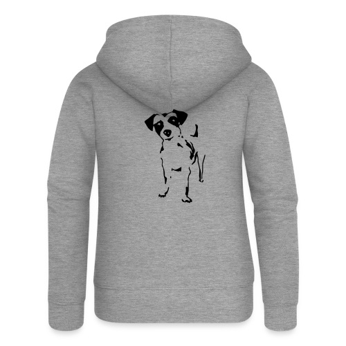 Jack Russell Terrier - Frauen Premium Kapuzenjacke