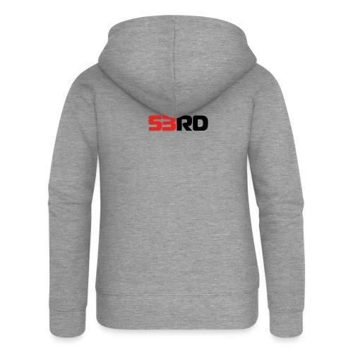 53RD Logo lang (schwarz-rot) - Frauen Premium Kapuzenjacke