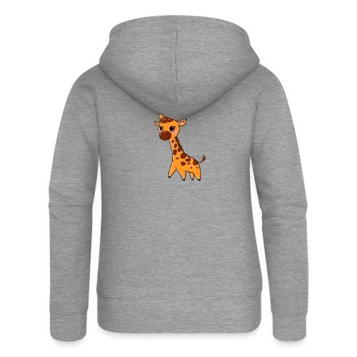 Mini Giraffe - Women's Premium Hooded Jacket