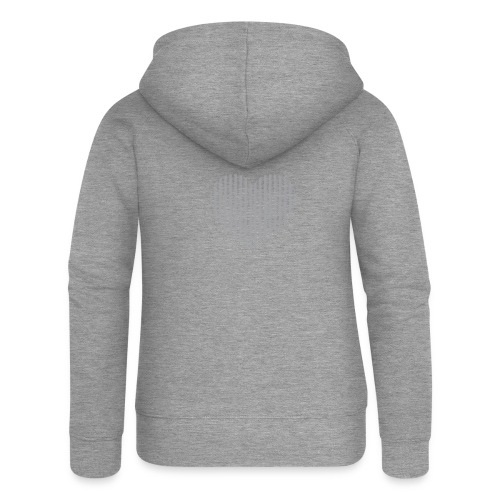 heart_striped.png - Women's Premium Hooded Jacket