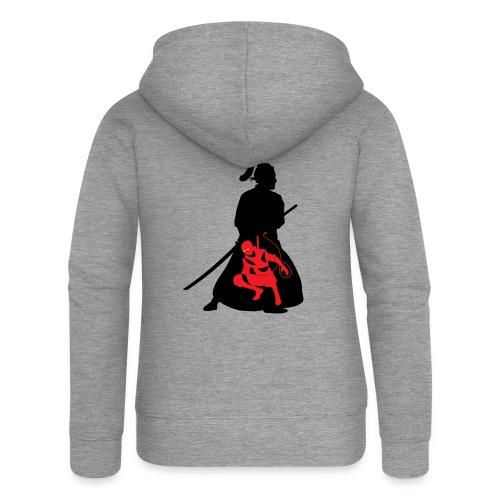 Samourai - Veste à capuche Premium Femme