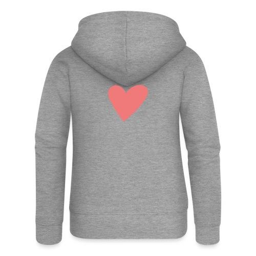 Popup Weddings Heart - Women's Premium Hooded Jacket