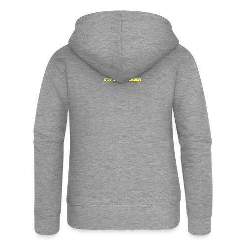 UVSMF - Felpa con zip premium da donna