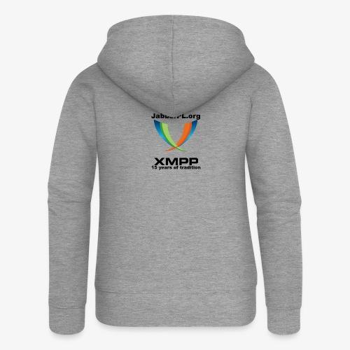 JabberPL.org XMPP - Women's Premium Hooded Jacket