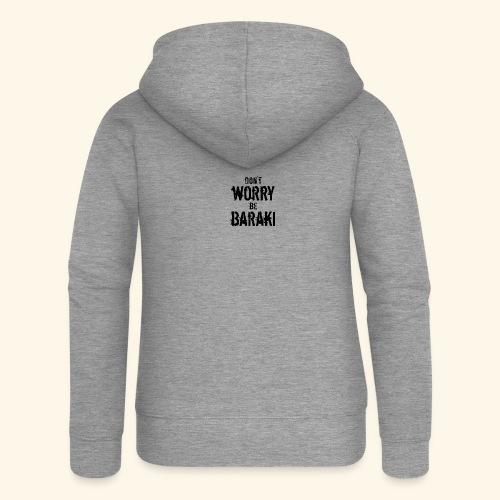Be Baraki (Noir) - Veste à capuche Premium Femme
