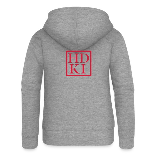 HDKI logo - Women's Premium Hooded Jacket