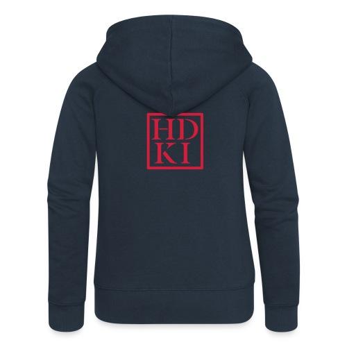 HDKI logo - Women's Premium Hooded Jacket