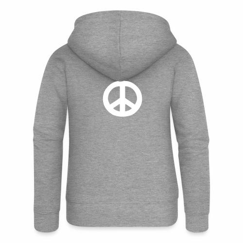 Peace - Women's Premium Hooded Jacket