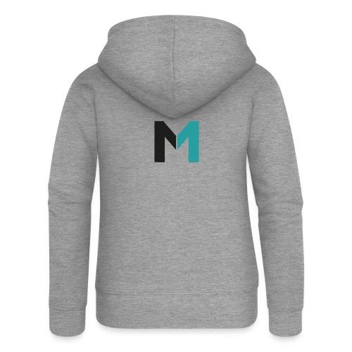 Logo M - Frauen Premium Kapuzenjacke