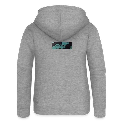 Extinct box logo - Women's Premium Hooded Jacket