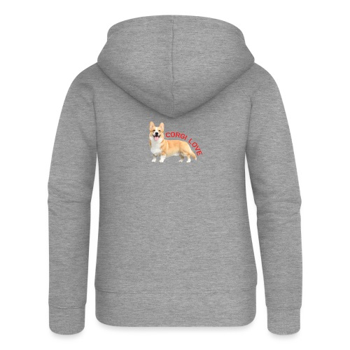 CorgiLove - Women's Premium Hooded Jacket