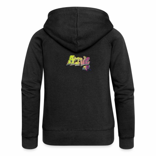 ALIVE TM Collab - Women's Premium Hooded Jacket