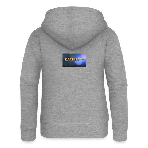 DARIUSZ TV - Rozpinana bluza damska z kapturem Premium