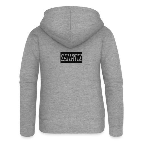 SanatixShirtLogo - Women's Premium Hooded Jacket