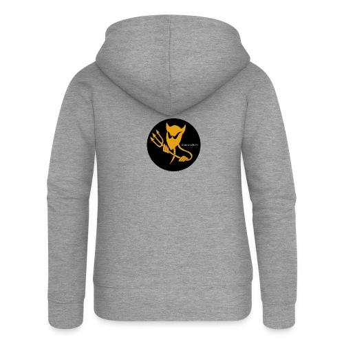 ElectroDevil T Shirt - Women's Premium Hooded Jacket