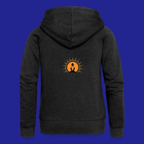 Guramylyfe logo no text black - Women's Premium Hooded Jacket