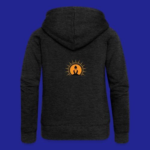 Guramylife logo black - Women's Premium Hooded Jacket