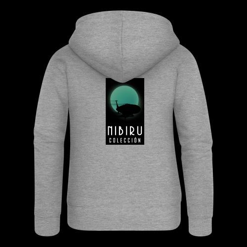 colección Nibiru - Chaqueta con capucha premium mujer