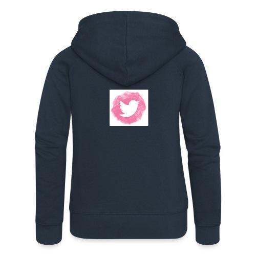 pink twitt - Women's Premium Hooded Jacket