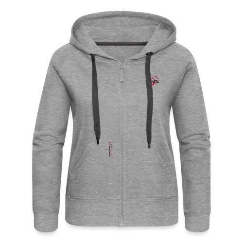 logoallein6 - Frauen Premium Kapuzenjacke