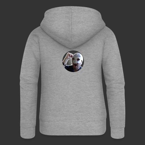 Logo kanału wicek3d na Youtube - Rozpinana bluza damska z kapturem Premium