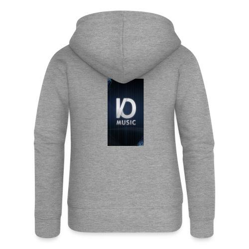 iphone6plus iomusic jpg - Women's Premium Hooded Jacket